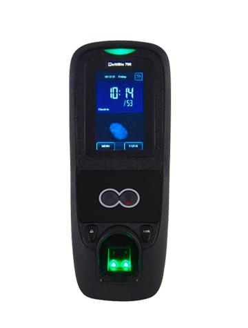 MULTIBIO 700 Control de Acceso Multibiométrico Facial, Huella y Código