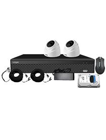 KIT de cámaras de seguridad XVRA2004D2P200